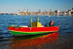 Provincetown小游艇船坞 库存图片