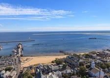 Provincetown, Μασαχουσέτη, άποψη βακαλάων ακρωτηρίων Στοκ Εικόνες