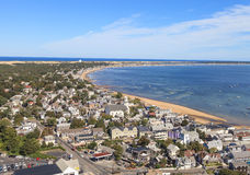 Provincetown, Μασαχουσέτη, άποψη βακαλάων ακρωτηρίων Στοκ φωτογραφία με δικαίωμα ελεύθερης χρήσης