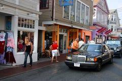Provincetown было местом первой посадки Mayflower и теперь главное назначение перемещения стоковое изображение rf
