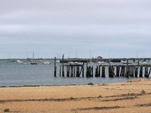 Provincetown Cape Cod. Provincetown is a New England town located at the extreme tip of Cape Cod in Barnstable County, Massachusetts, in the United States Royalty Free Stock Photography