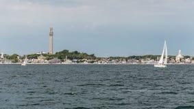 Provincetown hamn Arkivfoton