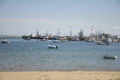 Provincetown hamn Arkivfoto