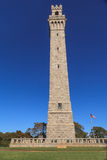 Provincetown, le Massachusetts, monument de pèlerin de Cape Cod Images libres de droits