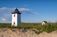 Provincetown Lighthouse in Massachusetts Stock Image
