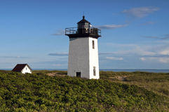 Provincetown Lighthouse at Tip of Cape Cod Royalty Free Stock Photos