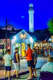 Provincetown Massachusetts August 2017 at the end of Cape Cod Provincetown has a large gay population of residents and. Provincetown Massachusetts USA August Stock Photography
