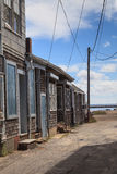 Provincetown, Massachusetts, Cape Cod beach shacks Stock Photography