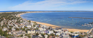 Provincetown, Massachusetts, Cape Cod city view Stock Image