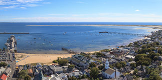 Provincetown, Massachusetts, Cape Cod city view Royalty Free Stock Photos