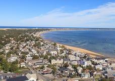 Provincetown, Massachusetts, Cape Cod-mening Royalty-vrije Stock Fotografie