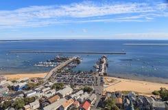 Provincetown, Massachusetts, Cape Cod-mening Royalty-vrije Stock Foto