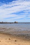 Provincetown, Massachusetts, Cape Cod-strand Stock Afbeeldingen
