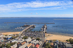 Provincetown, Massachusetts, Cape Cod view Royalty Free Stock Photo