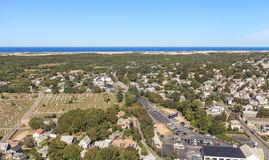 Provincetown, Massachusetts, Cape Cod view Stock Photography