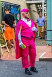 Provincetown Massachusetts August 2017 at the end of Cape Cod Provincetown has a large gay population of residents and tourists. Stock Image