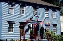 Provincetown MOR: 19th århundradegästhus Royaltyfri Foto