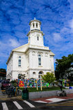 Provincetown Public Library, Commercial Street, Provincetown, MA. Royalty Free Stock Photography