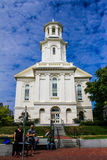 Provincetown Public Library, Commercial Street, Provincetown, MA. Royalty Free Stock Image