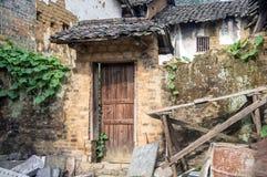 Provincia China, atracciones turísticas famosas de Guangxi en Hezhou, ciudad antigua de Huang Yao Imagenes de archivo