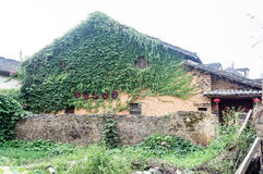 Provincia China, atracciones turísticas famosas de Guangxi en Hezhou, ciudad antigua de Huang Yao Fotos de archivo
