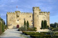 Provincia de Aldea del Cano Castle Arguijuela de Caceres, España Fotografía de archivo