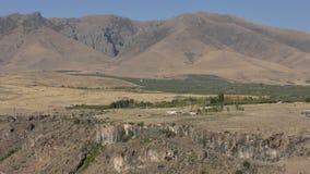 Provincia de Armenia, Aragatsotn Colores del otoño de Aramount imagenes de archivo