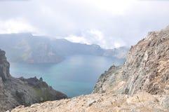 Provincia de China, Jilin, montaña de changbai Foto de archivo libre de regalías