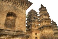 Provincia de Henan del monasterio de Shaolin Imagenes de archivo
