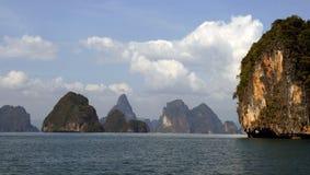 Provincia de Krabi de la isla de la phi de la phi, Tailandia Fotografía de archivo