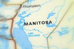Provincia de Manitoba, Canadá Fotografía de archivo libre de regalías