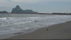 Provincia de Prachuap Khiri Khan, al sur de Tailandia almacen de metraje de vídeo