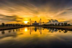 Provincia de Songkhla de la mezquita, Tailandia imágenes de archivo libres de regalías