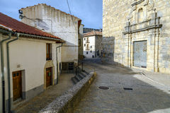 Provincia di Ares del Maestrazgo di Valencia, Spagna Fotografia Stock
