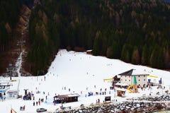 Provincia di Belluno, montagne di Dolomiti, Italia Fotografia Stock