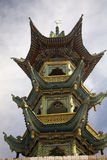 Provincia di Gansu della moschea di stile cinese Cina Immagine Stock