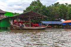 Provincia di Krabi, Tailandia Stazione di kayak Giungla della mangrovia Fotografie Stock