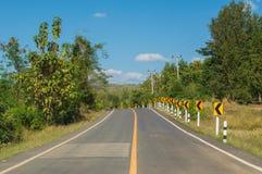 Provincia di Loei della strada Fotografia Stock
