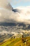 Provincia di Tungurahua nell'Ecuador Fotografie Stock Libere da Diritti