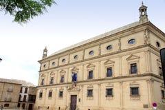 Provincia España de Úbeda Jaén del ayuntamiento Foto de archivo libre de regalías