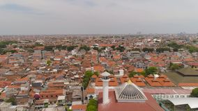 Provincia Indonesia de Jawa Tamerlán de la capital de Surabaya metrajes