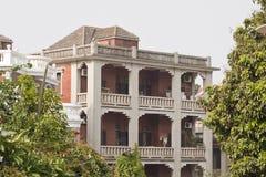 Provincia portuguesa de Fujian del gulangyu de la casa Imagenes de archivo