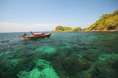 Provincia Tailandia di Koh Lipe Satun dell'isola di Lipe Fotografie Stock Libere da Diritti