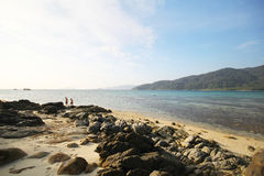 Provincia Tailandia di Koh Lipe Satun dell'isola di Lipe Immagine Stock