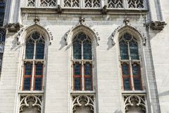 The Provinciaal Hof Province Court in Bruges, Belgium Royalty Free Stock Photography