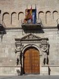 Provinciaal hof in Saragossa Stock Fotografie