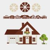 Provinciaal Huis vector illustratie