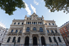 Provincial building in Bilbao, Spain Royalty Free Stock Photos