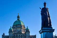 Provincial Capital Legislative Buildiing Victoria Canada Stock Image