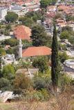 Provincial city suburb. Fethiye, Turkey Stock Photos